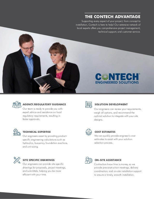Site Solutions by Contech Slide 3