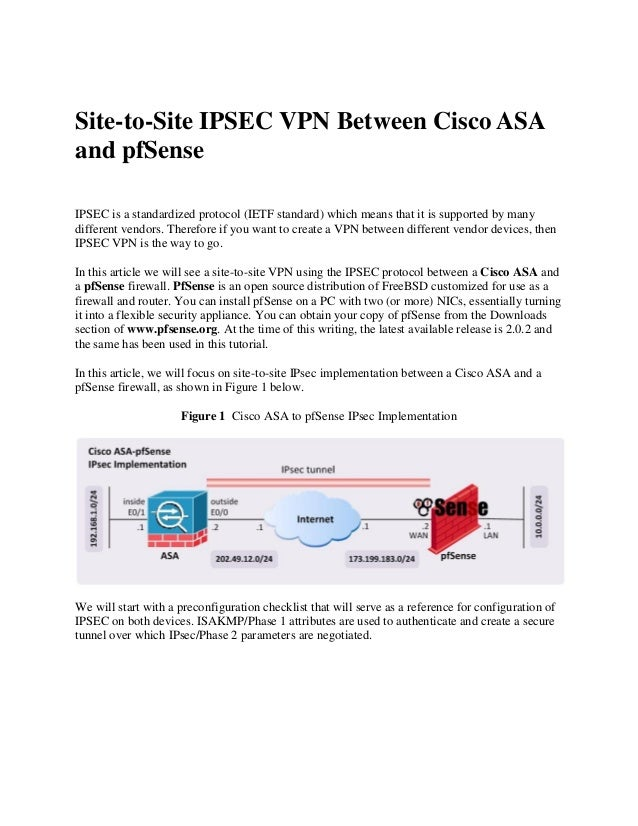 Site to site vpn cisco asa checkpoint