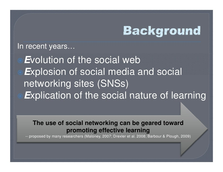 Use of social networking and how