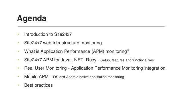 Application Performance Monitoring (APM) Slide 2