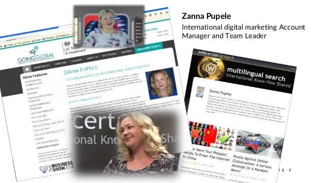 Site adaptation for foreign markets - trust signals. Zanna Pupele, Brighton SEO,  Sept 2018 presentation Slide 2