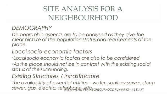 a discussion of the importance of demographic issues To describe and demonstrate the importance of the economic environment factor in planning and  very important in any discussion on economic factors is.