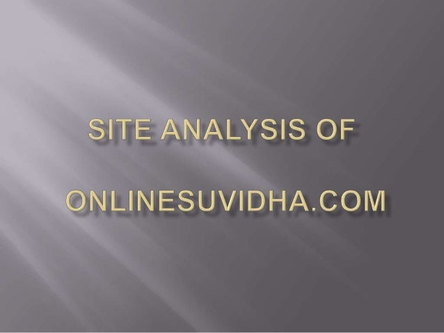 1. Competitor AnalysisFor onlinesuvidha.com the competitors are Jabong,Myntra, Homeshop18 and various other clothingstore ...