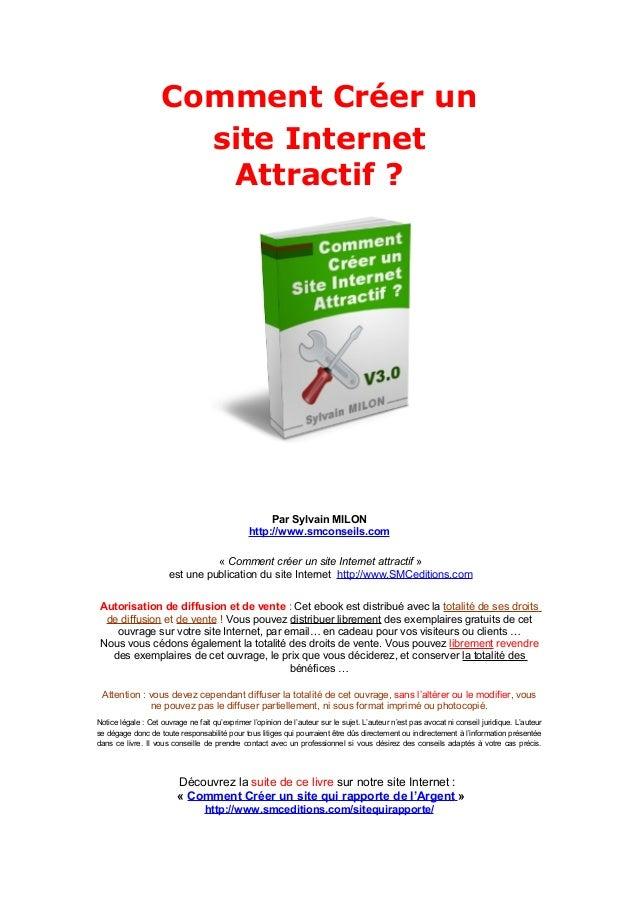 Comment Créer un                      site Internet                       Attractif ?                                     ...