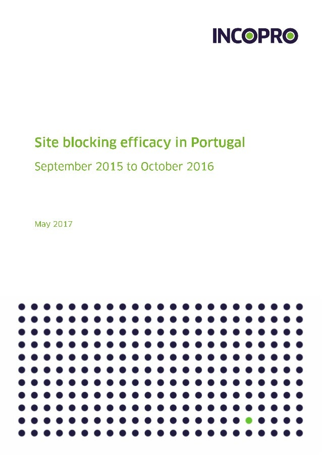 Executive summary 3 Key findings 3 Introduction 5 Analysis of Portugal Top 250 Unauthorised Sites 6 Top 50 unauthorised si...