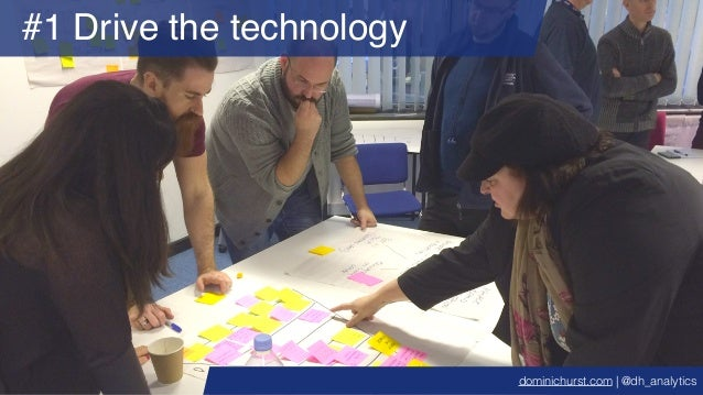 #1 Drive the technology dominichurst.com | @dh_analytics