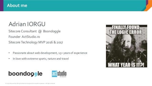 Sitecore 9 - What's new? Slide 2