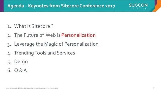 Sitecore and the Future of Web Development Slide 3