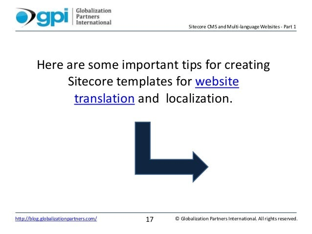 Sitecore CMS and Multi-language Websites - Part 1