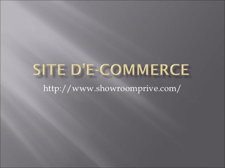 http://www.showroomprive.com/