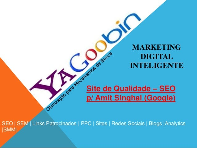 MARKETINGDIGITALINTELIGENTESEO | SEM | Links Patrocinados | PPC | Sites | Redes Sociais | Blogs |Analytics|SMM|Site de Qua...