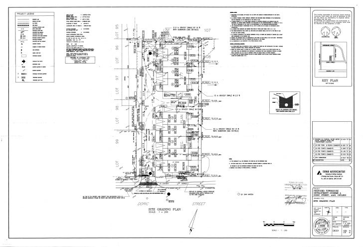 Site grading plan – Site Grading Plan