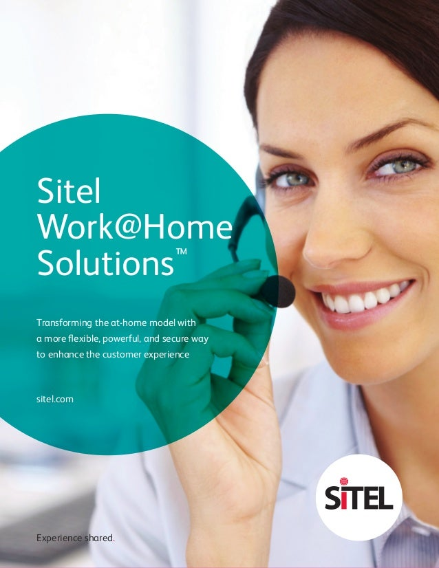 Transforming The Work At Home Model