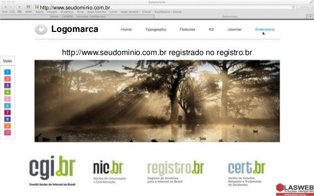 http://www.seudominio.com.br  Logomarca http://www.seudominio.com.br registrado no registro.br