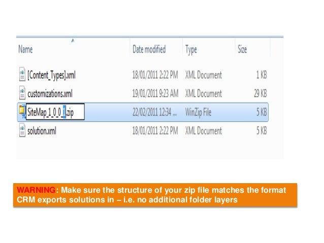 sitemap in microsoft dynamics crm 2011 2013