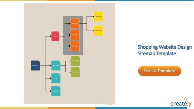 Sitemap templates by creately vertical sitemap structure template ccuart Choice Image