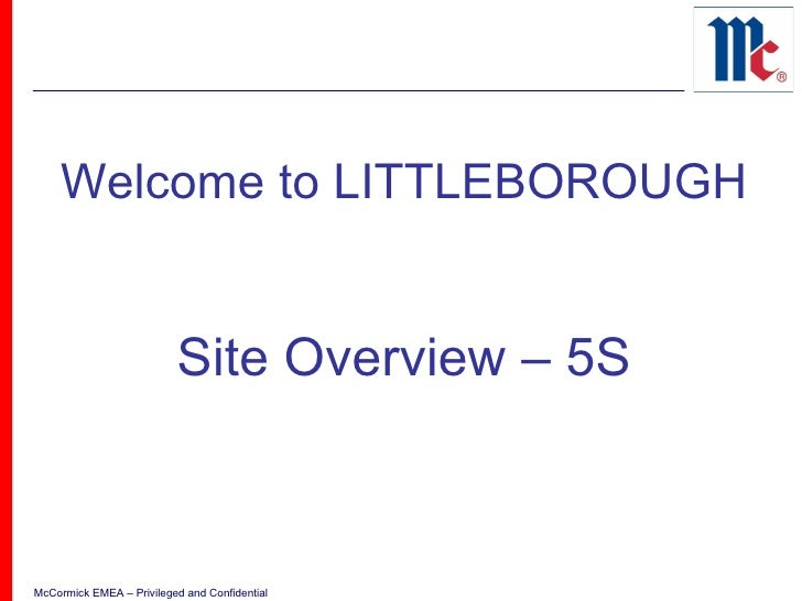 Welcome to LITTLEBOROUGH Site Overview – 5S