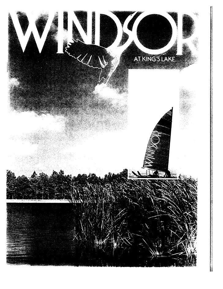 Site plan of windsor at king's lake naples florida