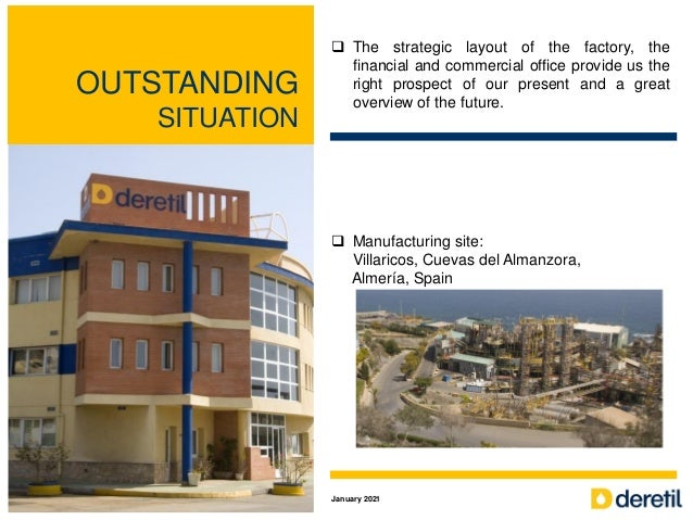 OUTSTANDING SITUATION  The strategic layout of the factory, the financial and commercial office provide us the right pros...