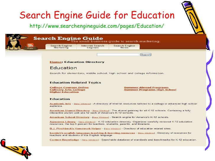 The Top Ten Search Engines for Students