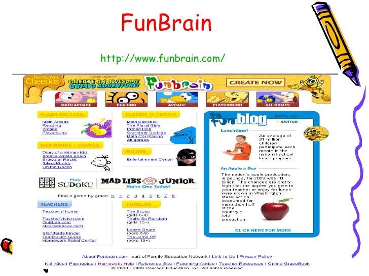 Funbrain homework help