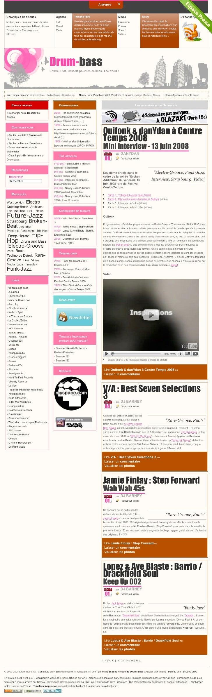 Sites Web par Dan Bernier Slide 2