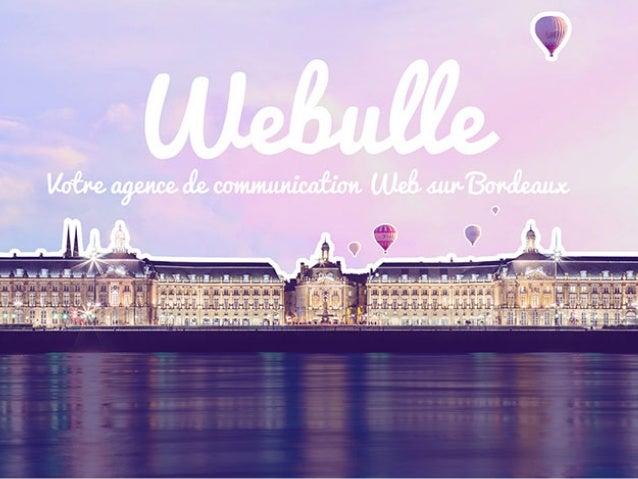 Site Webulle - Webdesign