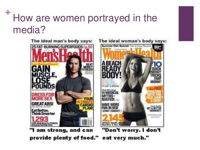 Women portrayed in the media essays