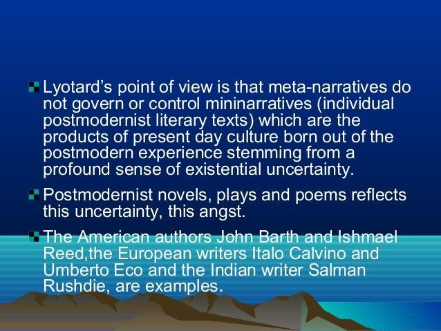Modernism and Postmodernism