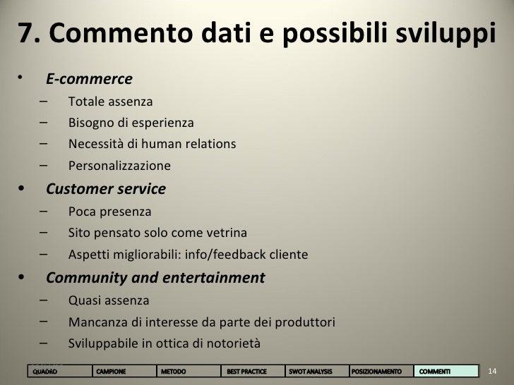 Analisi siti arredamento for E commerce arredamento