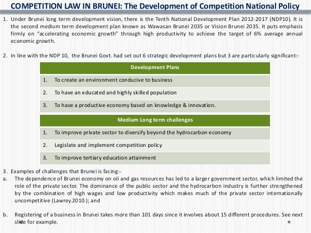 Competition law in brunei
