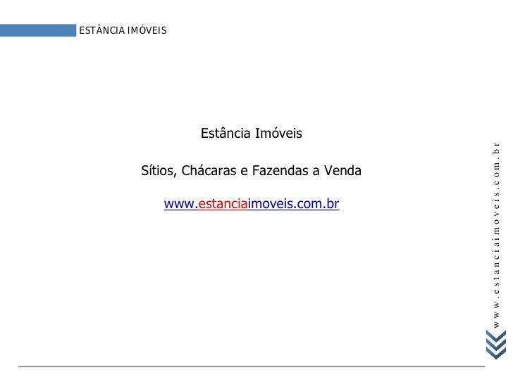 ESTÂNCIA IMÓVEIS                         Estância Imóveis                                                      www.estanci...