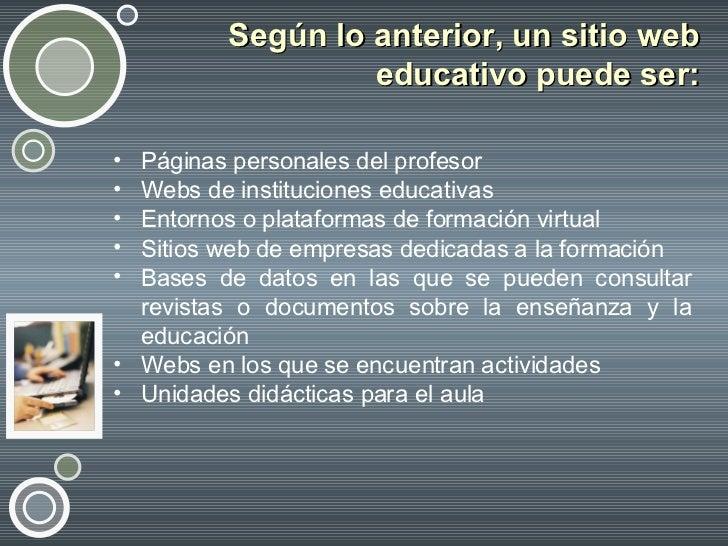 Sitios Web Educativos Slide 3