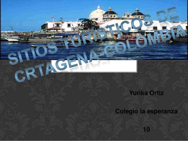 Yurika Ortiz Colegio la esperanza 10