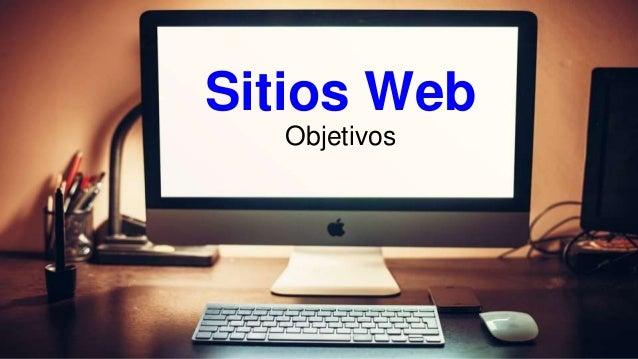 Sitios Web Objetivos