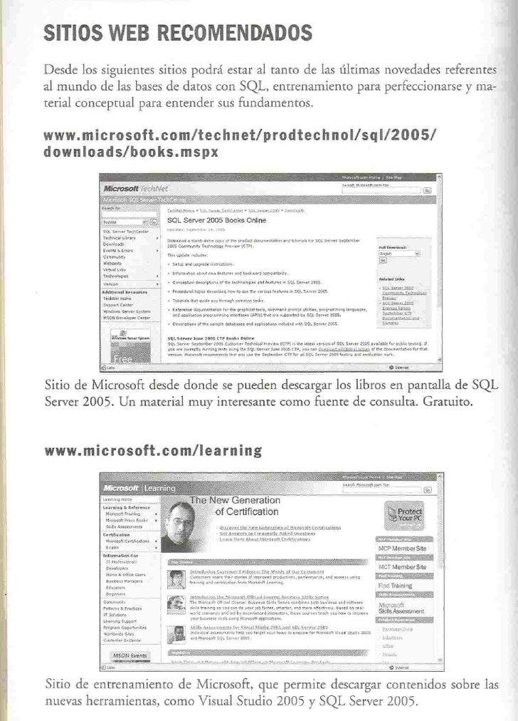 SITIOS WEB RECOMENDADOS Desde los siguientes sitios podrá estar al tanto de las últimas novedades referentes al mundo de l...
