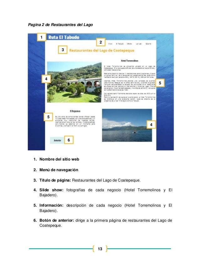 Dise o de sitio web de la ruta del tabudo for Sitio web ministerio del interior