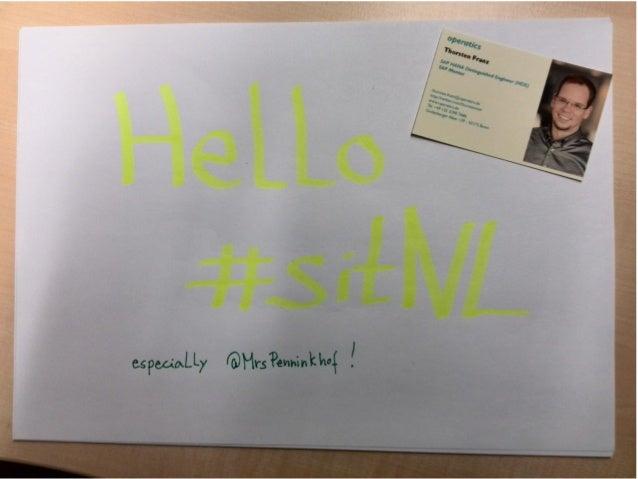 sitNL 2013 Preso by Thorsten
