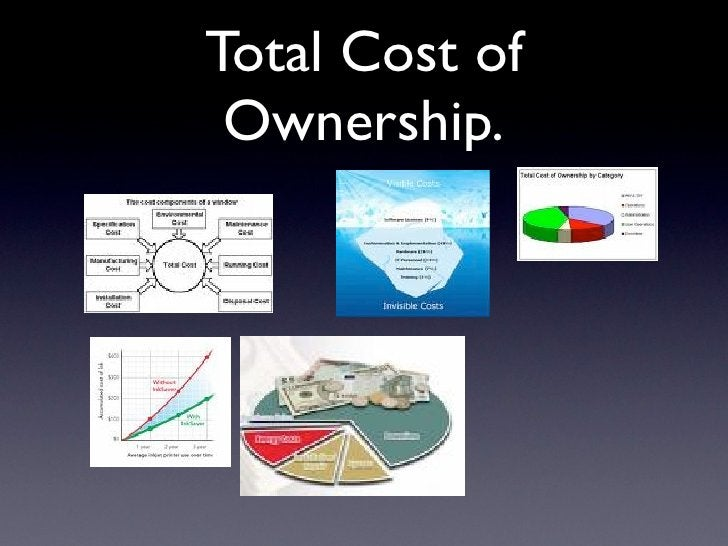 Total Cost of  Ownership.