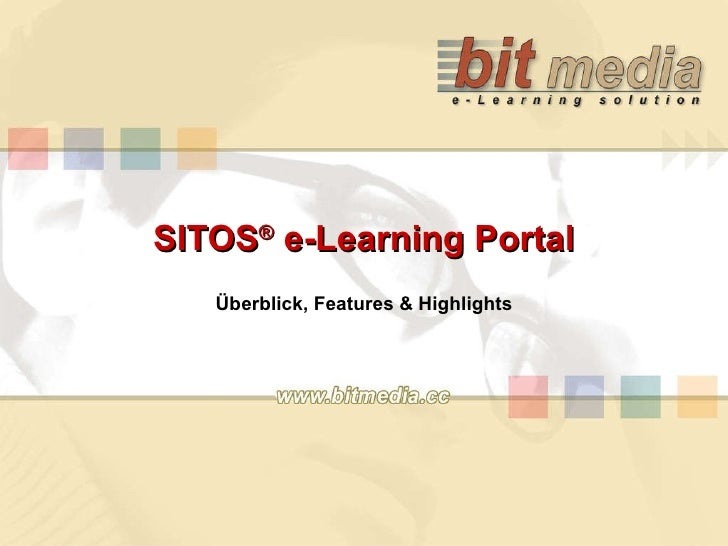 SITOS ®  e-Learning Portal Überblick, Features & Highlights