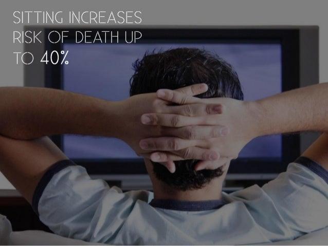 Sitting is killing you Slide 3