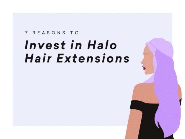 Thinking of investing in halo hair extensions? Click through for more reasons why you should get them.