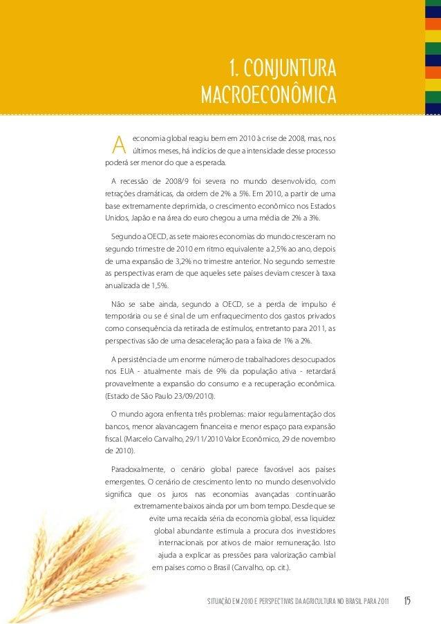 68a87793281a4 Situação em 2010 e perspectivas da agricultura no Brasil para 2011