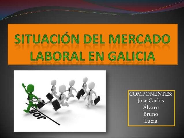 COMPONENTES: Jose Carlos Álvaro Bruno Lucía