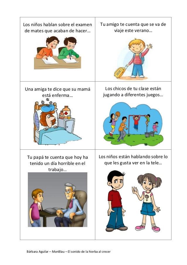 Bárbara Aguilar – MonBlau – El sonido de la hierba al crecer Los niños hablan sobre el examen de mates que acaban de hacer...