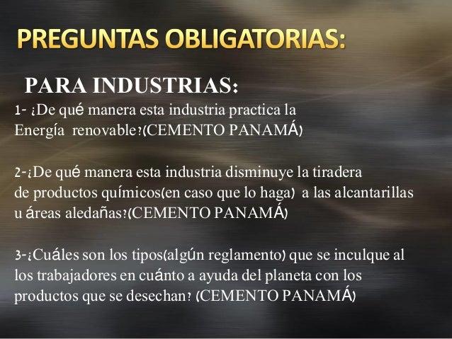 Sectores de las fuentes renovables en Panamá
