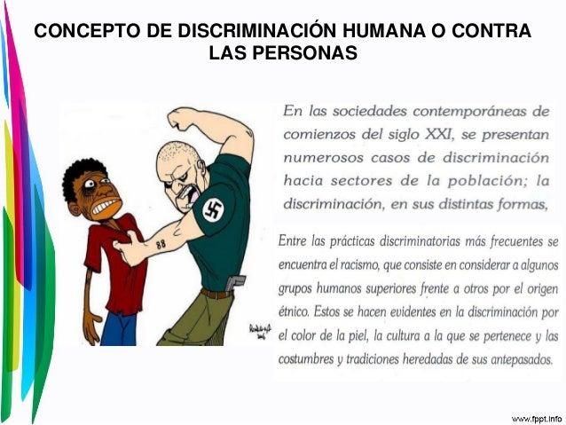 Situaciones Que Atentan Contra La Dignidad Humana Y Los