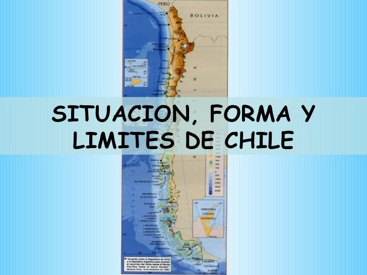 SITUACION, FORMA Y LIMITES DE CHILE