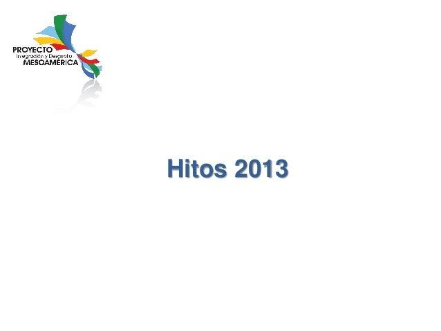 Hitos 2013
