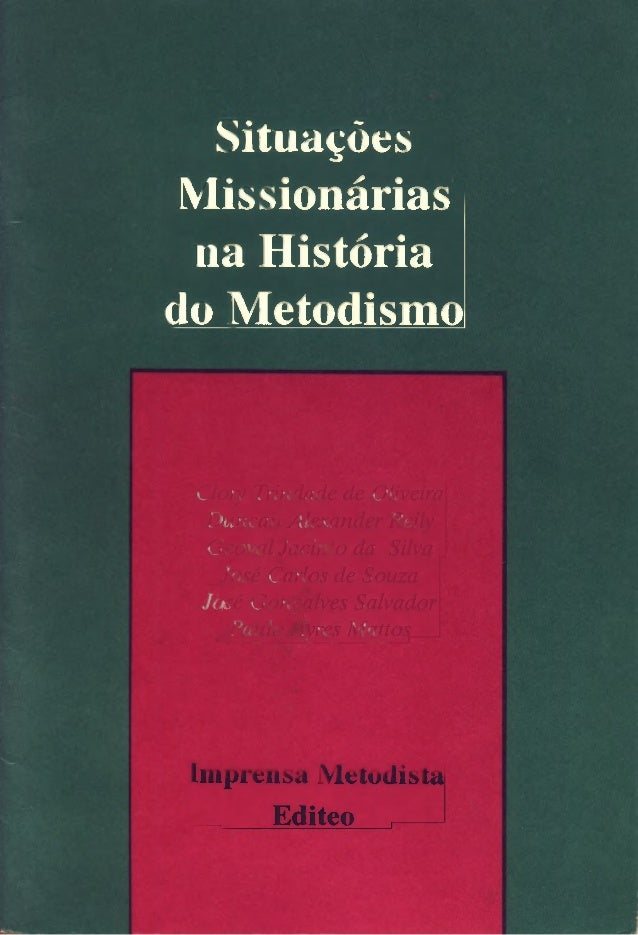 Situacoes missionarias na_historia_do_metodismo